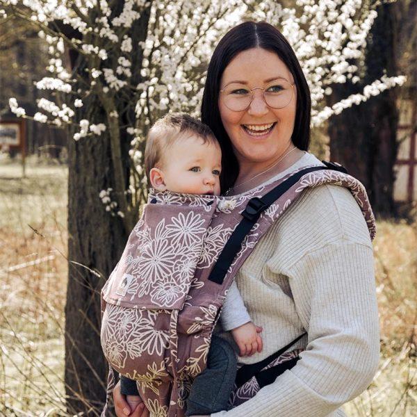 acheter louer porte bebe limas flex blossom rosewood
