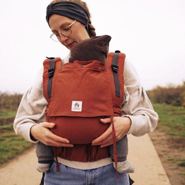 acheter louer porte bebe limas flex rusty red