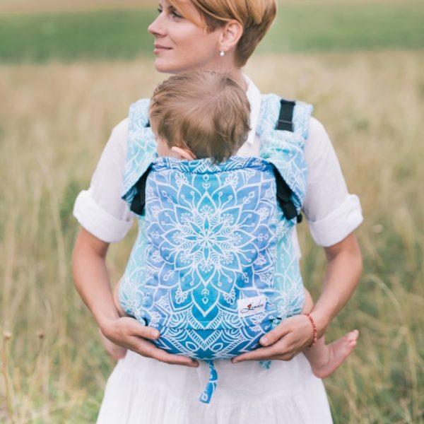 acheter-louer-porte-bébé-Belenka-4ever-Mandala-Blue