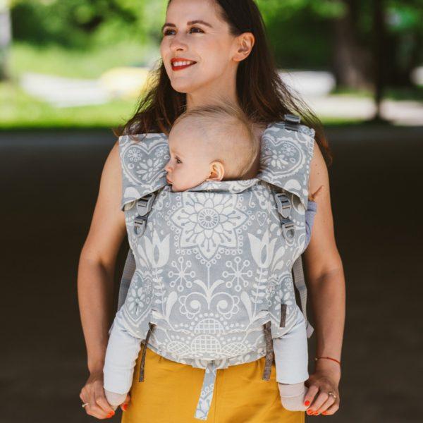 acheter-louer-porte-bébé-Belenka-4ever-Neo-folk-grey