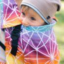 acheter-louer-porte-bébé-Belenka-4ever-Spiderweb-Sunrise