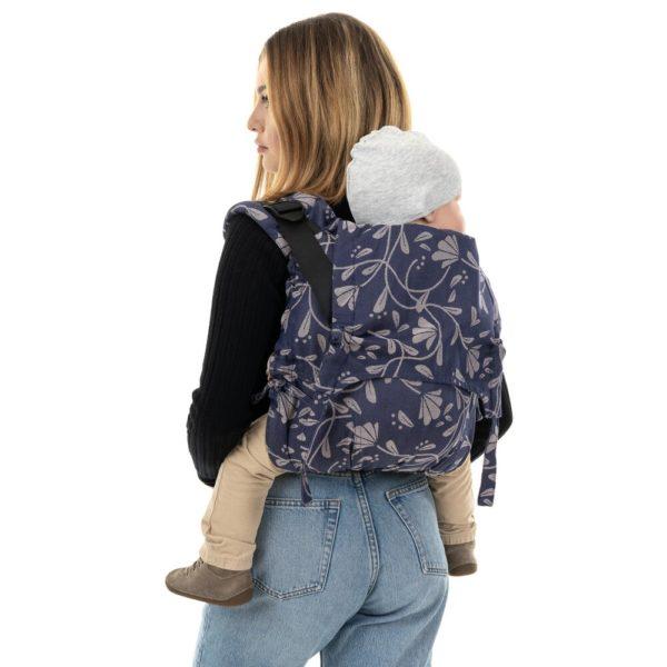 acheter-louer-porte-bébé-fidella-onbuhimo-V2-bambin-Floral-Touch-clipse-Bleu