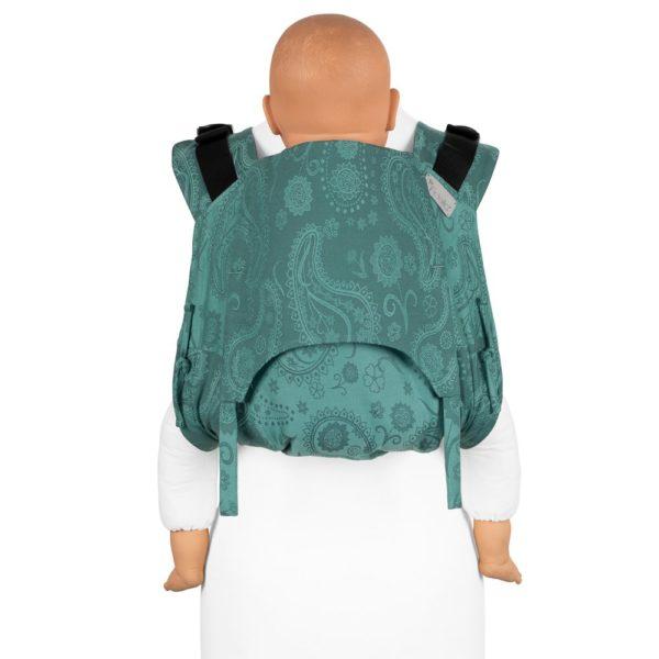 acheter-louer-porte-bébé-fidella-onbuhimo-V2-bambin-Persian-Paisley-Vert