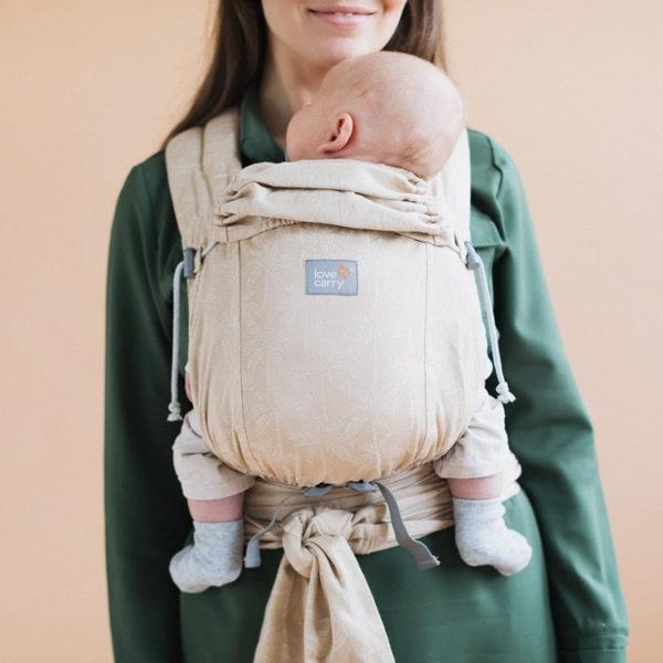 acheter-louer-porte-bébé-Love-and-Carry-LoveTie+-Sahara