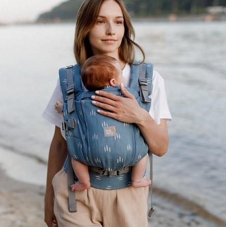 acheter-louer-porte-bébé-love-and-carry-One-+-Cool-Wood