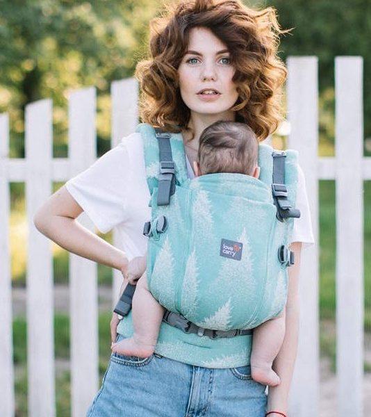 acheter-louer-porte-bébé-love-and-carry-One+Cool-Sequoia