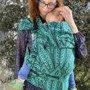 acheter-louer-porte-bébé-Monilu-Tai-Peacock-Smaragd