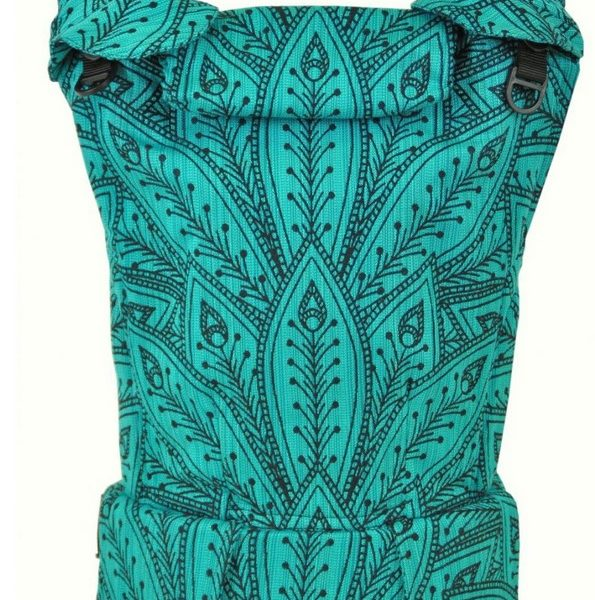 acheter-louer-porte-bébé-Monilu-Uni-Plus-Peacock-smaragd